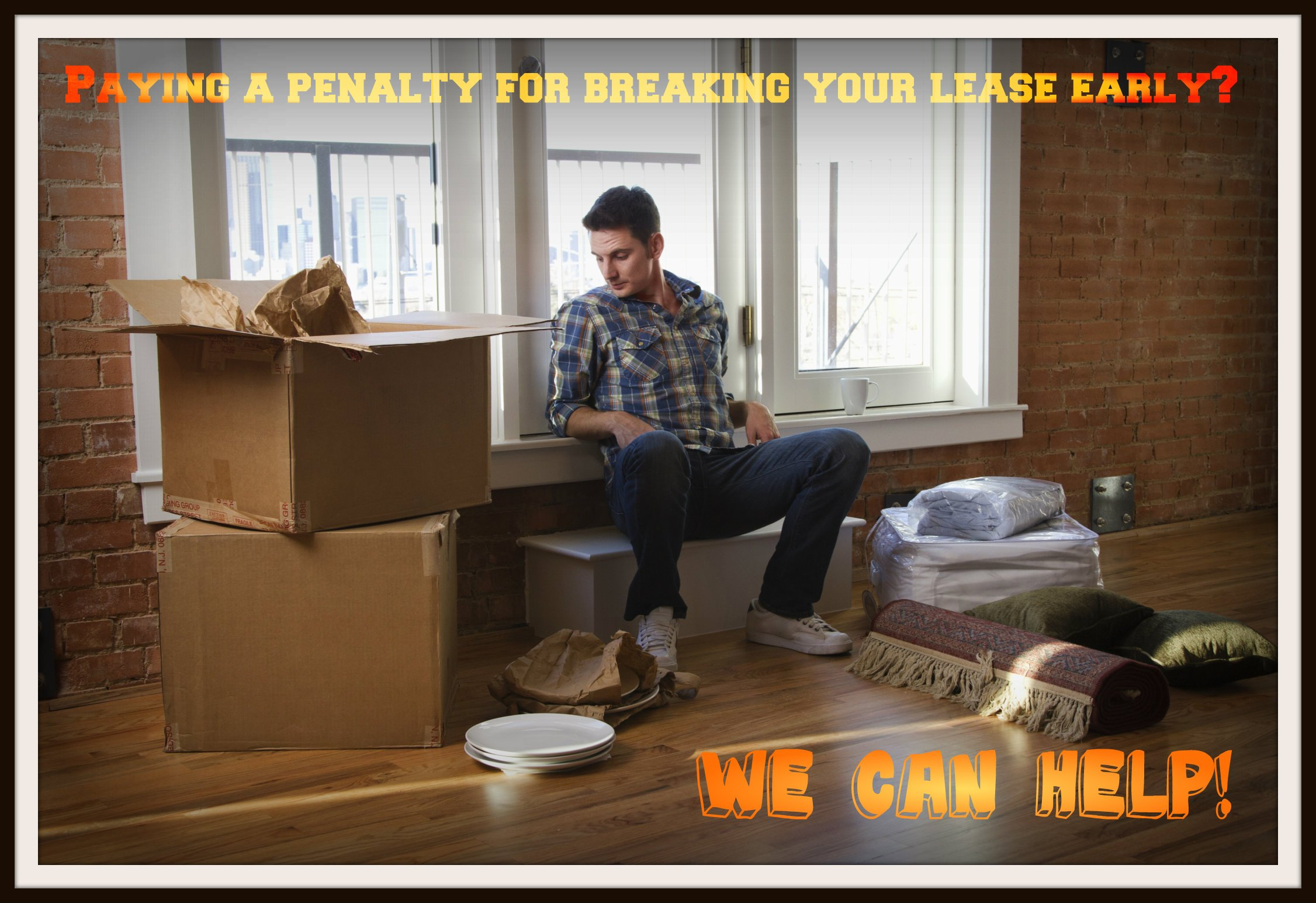 Penalty for breaking apartment lease early