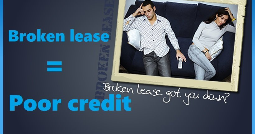 Apartment Lease Break on your Credit Report