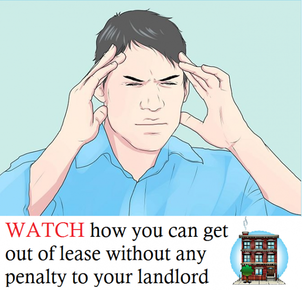 Watch Our VIDEO: How to get out of lease