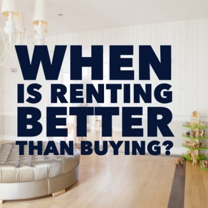 Top 10 Reasons Why Renting an Apartment Is Better than Buying a Home