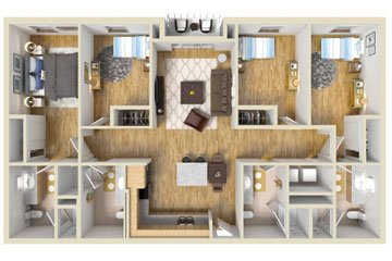what does an individual lease mean for student living. Black Bedroom Furniture Sets. Home Design Ideas