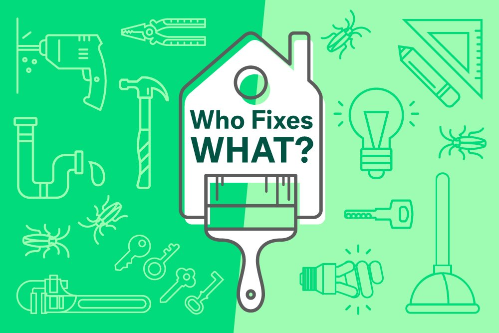 What repairs are landlords forced to repair for their tenants?
